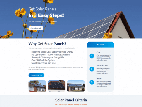 Government Solar Checker